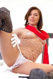 A Slippery Christmas with Adriana Chechik