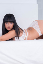 Alba de Silva debuts in Private with her first interracial with Alba De Silva