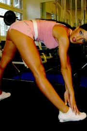 Alisha loves her new exercises with Alisha Sweet