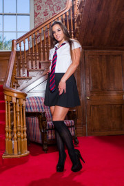School Girl Amirah Adara Gets Taught a Lesson in Physical Education with Amirah Adara