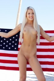 Oiled Independence Day with Ashlee Mae