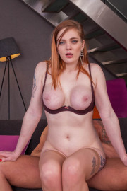 Carly Rae, Gorgeous Redhead Enjoys Fuck at Breakfast 9 of 12