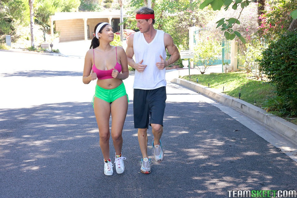 cassidy banks jogging