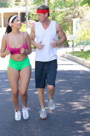 Jogging For Juggs with Cassidy Banks