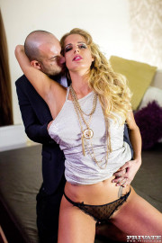 Blonde Chelsey Lanette Has Her Ass Eaten Out with Chelsey Lanette