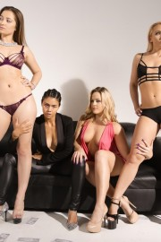 3 Lesbians Isn't A Crowd! with Dani Daniels, AJ Applegate and Alexis Texas