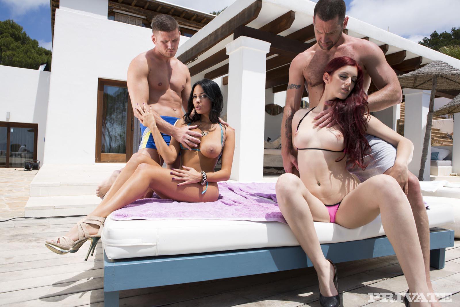 pool foursome