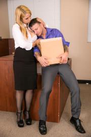 Big Tit Office Chicks with Sarah Vandella and Mr Pete