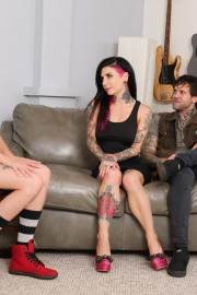 Babysitter Auditions - Haley Reed with Joanna Angel, Small Hands and Haley Reed