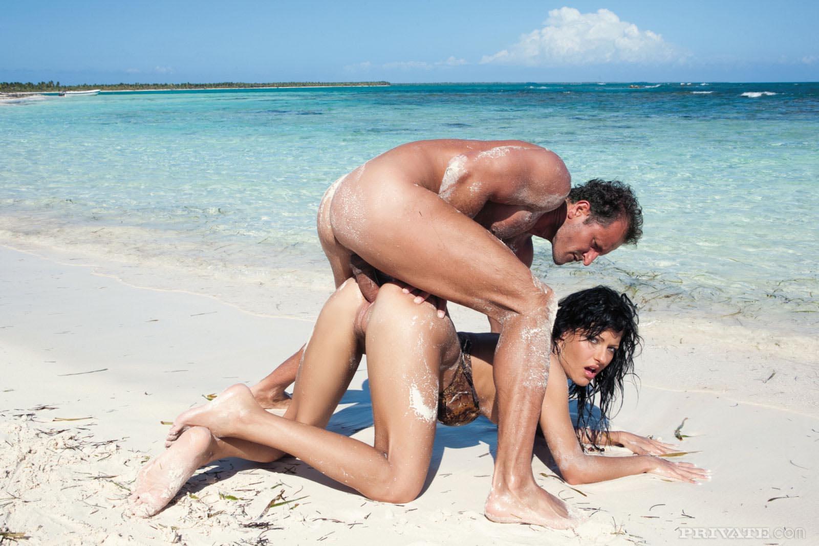 трахание на пляже видео - 12