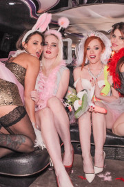 Orgy in the Limousine with Lucia Love, Ella Hughes, Carly Rae and Suzy Rainbow