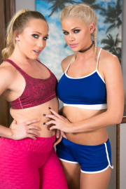 Lesbian Workout Stories: The Cooldown with AJ Applegate and Jessa Rhodes