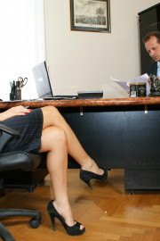 Office Sluts with George Uhl and Aleska Diamond