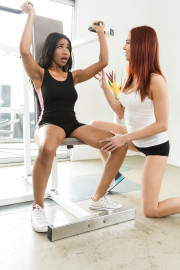 Gym Perks with Jenna Foxx and Jayden Cole