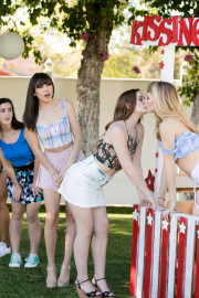 Caught At The Kissing Booth with Ivy Wolfe and Danni Rivers