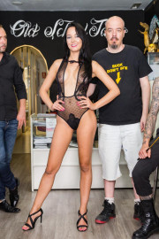 Humiliated at the Tattoo Studio with Francys Belle and Pablo Ferrari