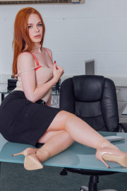 Ella Hughes Earns Her Job by Fucking the Boss with Ella Hughes