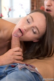 Big Ass Teen Genevieve Gets a Creampie For Desert 4 of 12