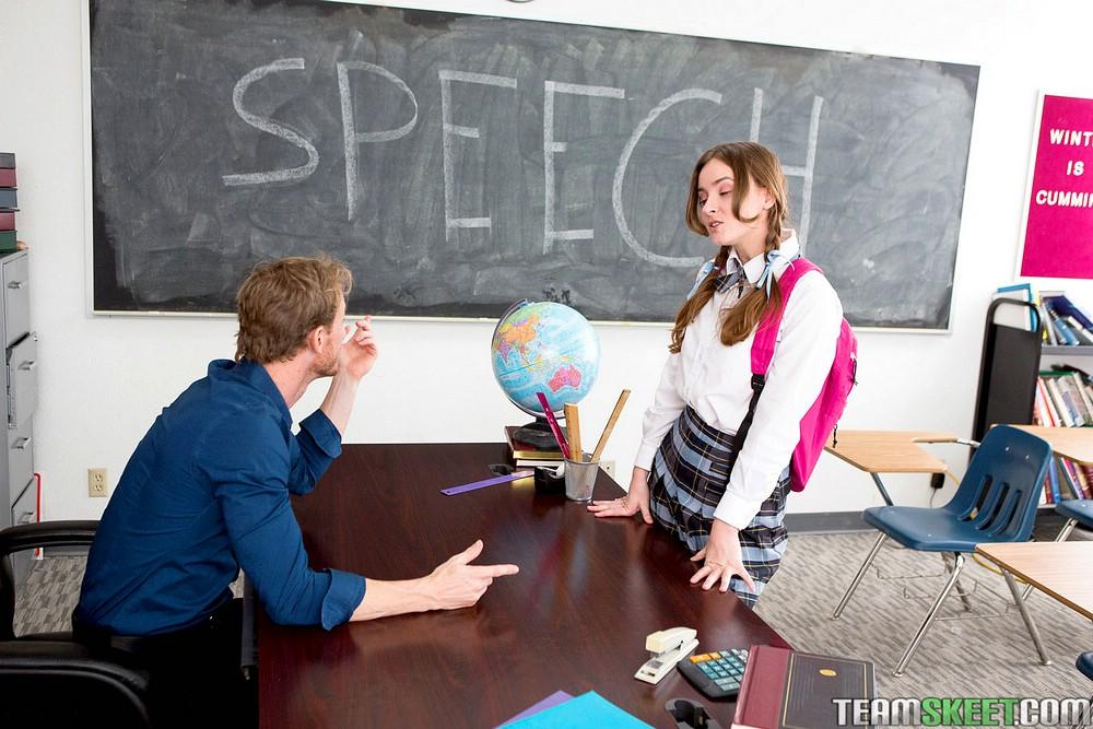 Speech class slut jay taylor