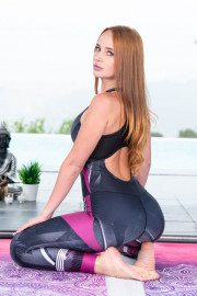 Kaisa Nord Relaxes with Yoga and Anal 5 of 20