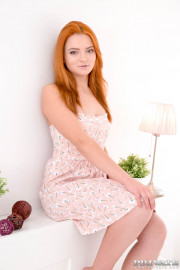 Klara, redhead teen debuts in Private with an anal with Katrin Beli