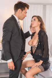 Liya Silver Gets Hot in the Office 10 of 20