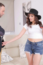 Persuading With Her Pussy with Penelope Cum